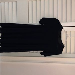 """Navy blue t-shirt dress from """"Hourglass Lily"""""""